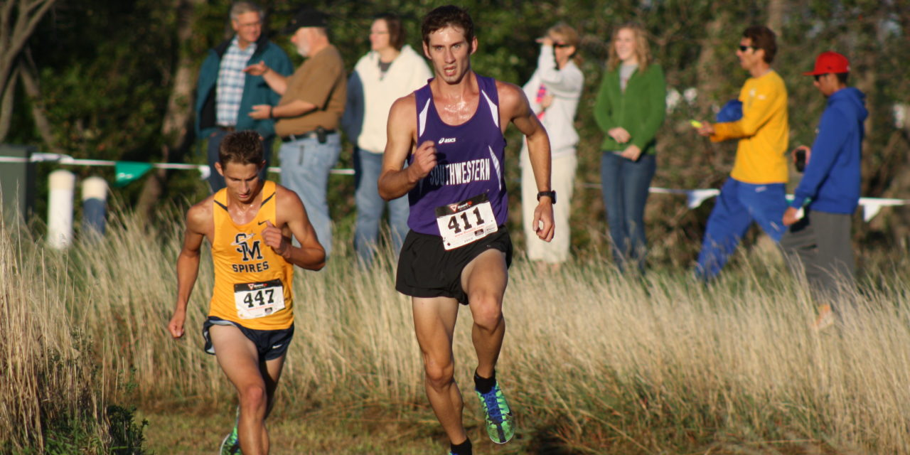 Five runners finish top 10 at Friends Invitational