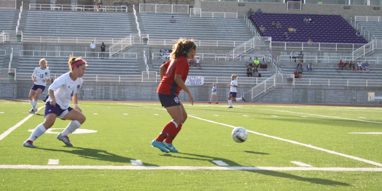 Eagles slip past Lady Builders in overtime 2-1