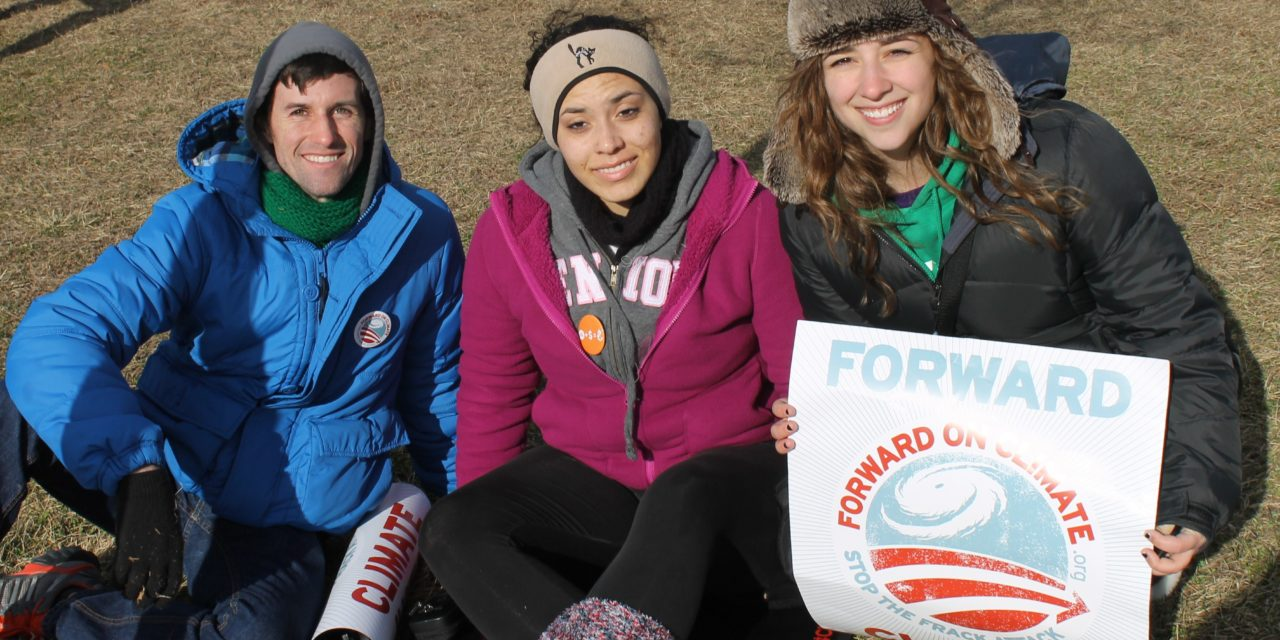 Builders add voices at Capitol climate rally (Slideshow)