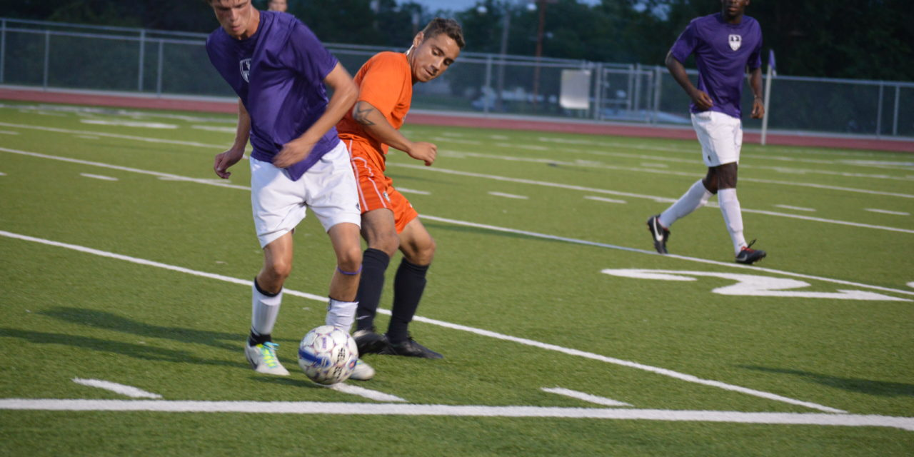 Work ethic leads men's soccer to success
