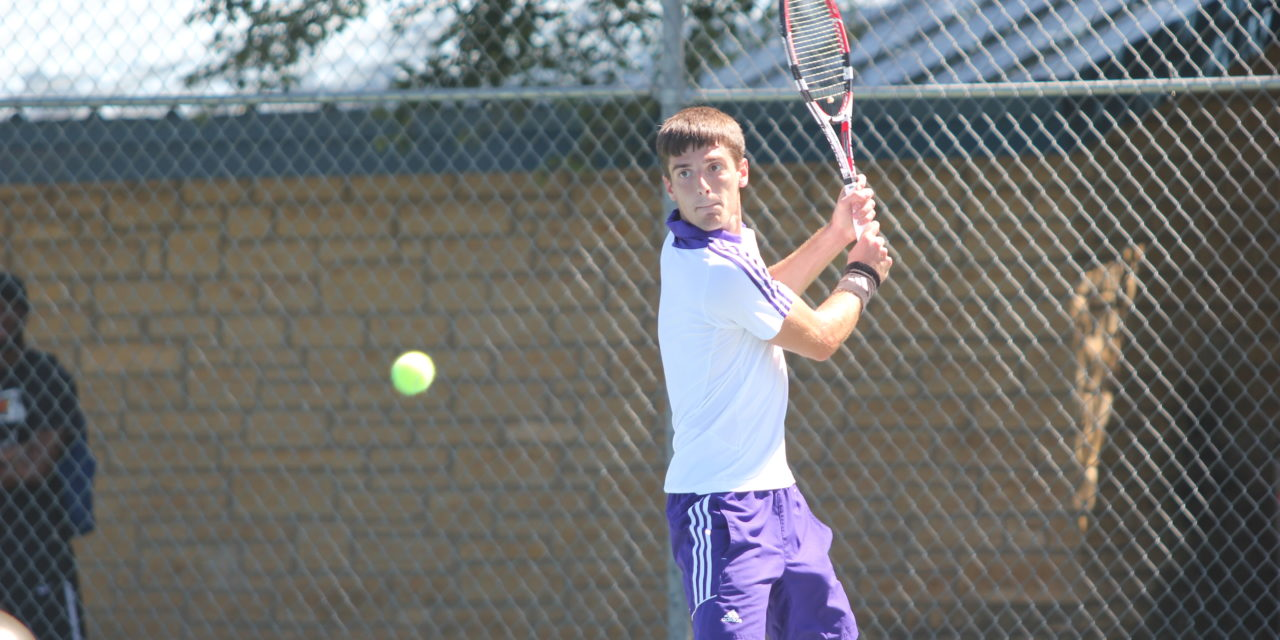 Scrimmage gives insight on improvement for Men's tennis