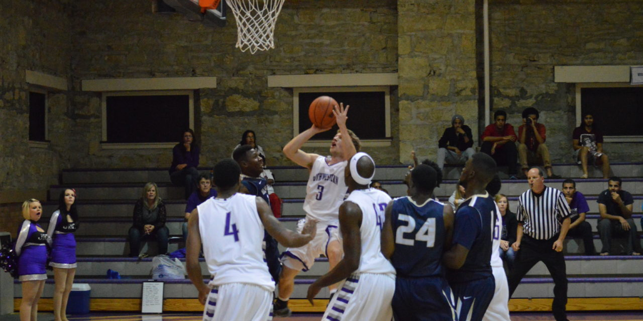 Men's basketball suffers home defeat to Friends, 86-69