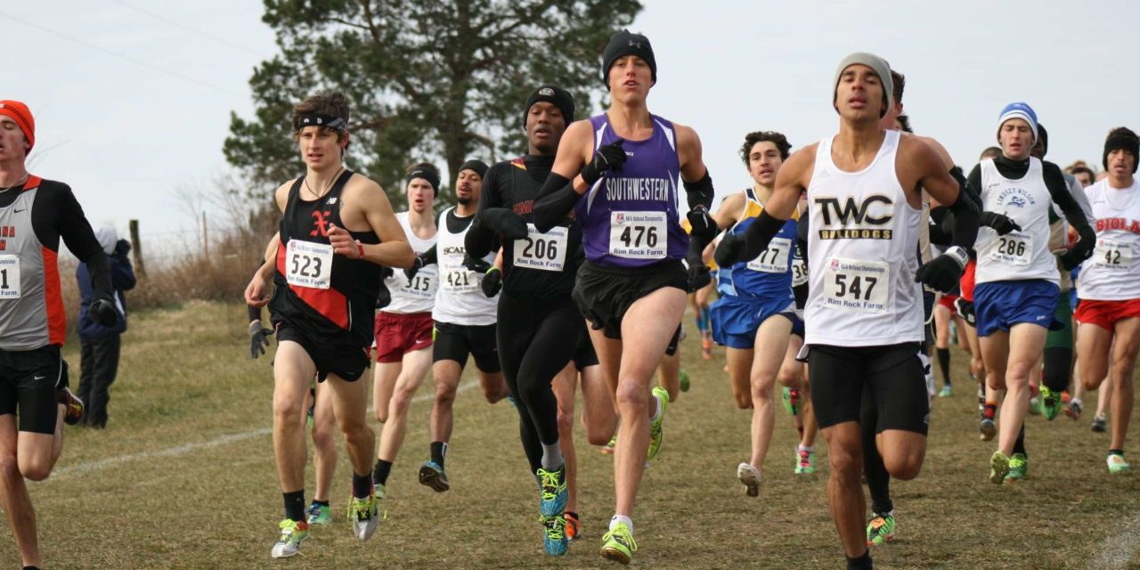 Men's and women's cross country compete at Rim Rock, Lawrence