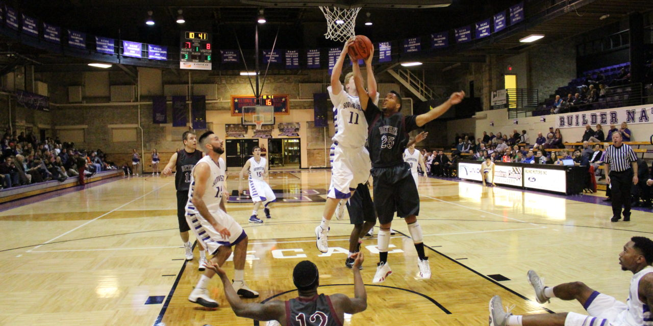 Men's basketball grabs victory in thriller against Bethel