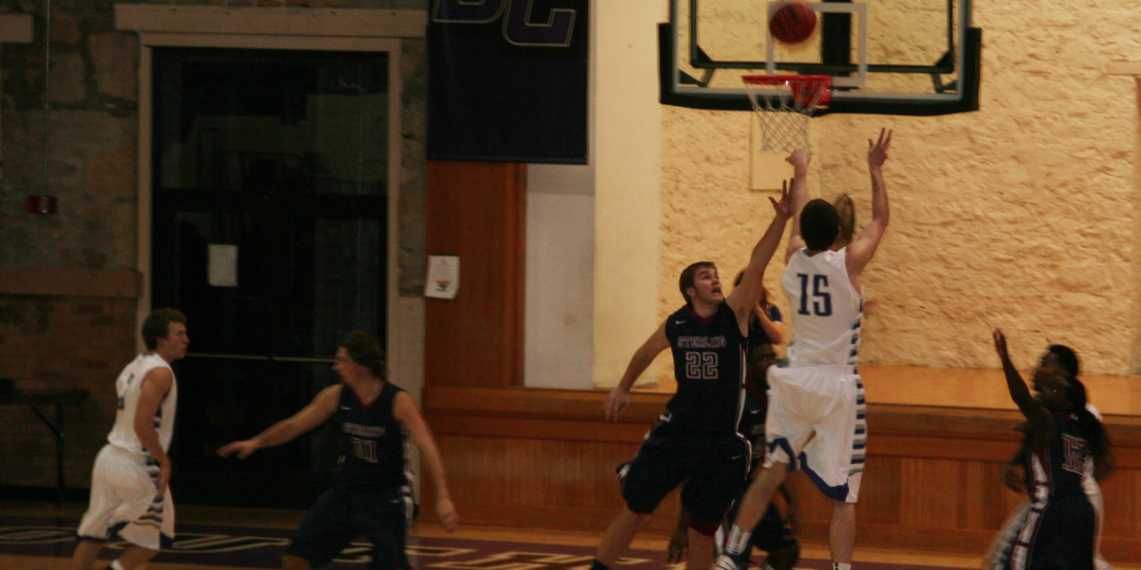Men's basketball loses to Sterling