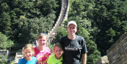 Experiencing China becomes a family affair