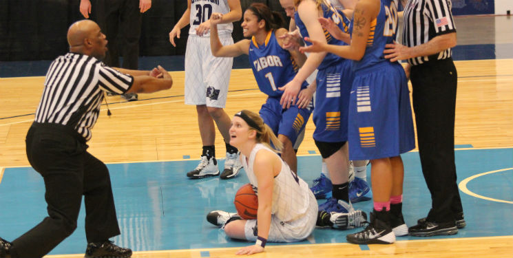 Lady Builders suffer slow start, fail to clinch KCAC championship