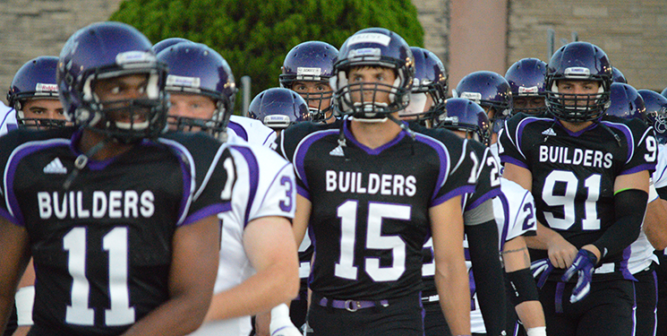 Second half woes trouble Builder football