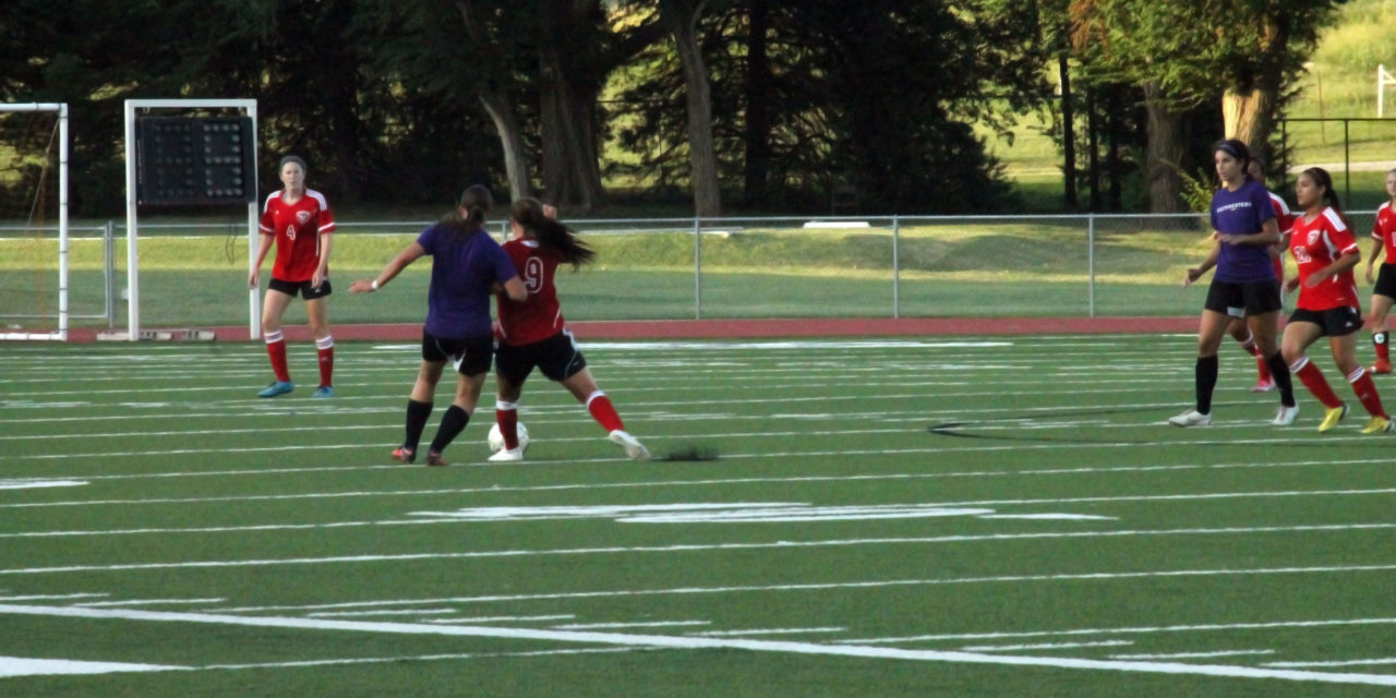 Women's soccer kicks off season with scrimmage against NOC (Slideshow)