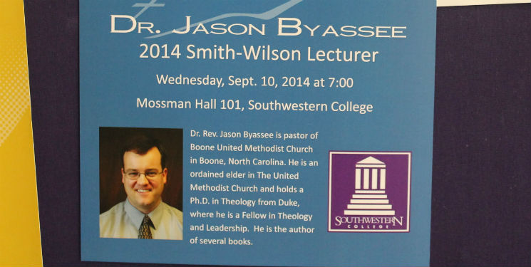 NC pastor prepares lecture for Sept. 10