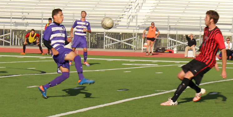 Men's soccer bounces back, claims victory over Bacone