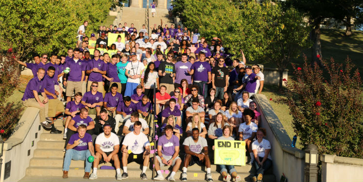 Homecoming Service Learning Project, 2014 (Video)