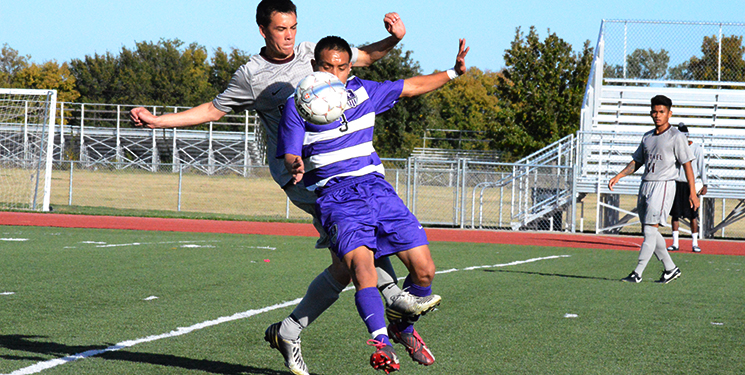 Men's soccer frustrated after defeat