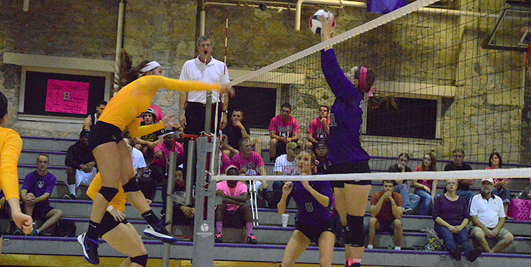 Volleyball ends season falling to Sterling
