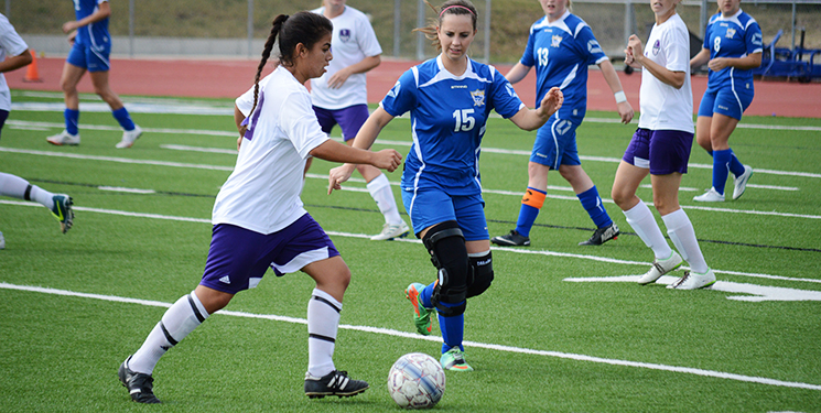 Women's soccer momentum dies after loss