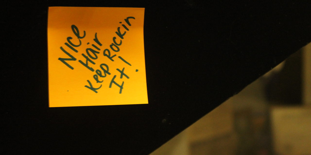 Discipleship sticky notes spread encouraging words (slideshow)