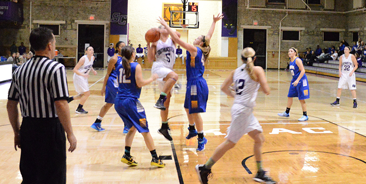 Women's basketball drop at Sterling