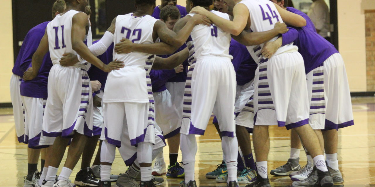 Men's basketball falls for first time this season