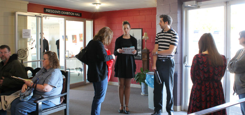 Area high school students gather for regional piano competition