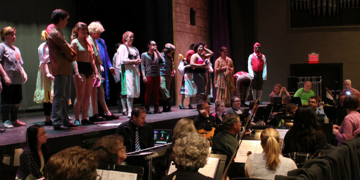 'Spamalot' rehearsals in full swing