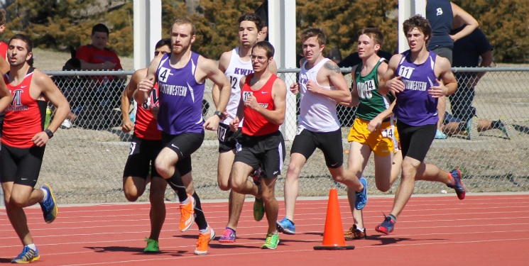 Track and field beats school record
