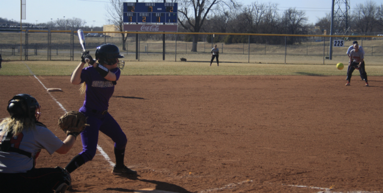 Softball earns win over conference-leading Falcons
