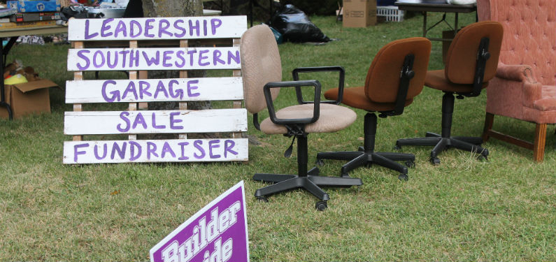 Leadership hosts annual garage sale fundraiser (Slideshow)