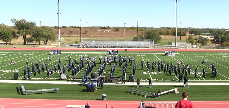 Mound of Sound marching festival excels in its second year