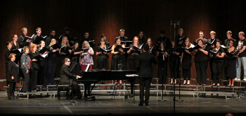 """SC Choir presents """"Out of the Darkness"""" (slideshow)"""