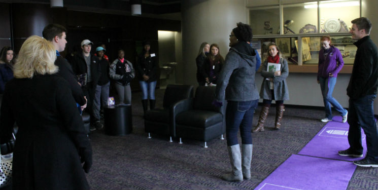 Prospective Students flood Campus for Explore More Day