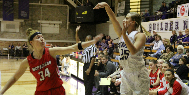 Lady Builders squeeze by against Bethel
