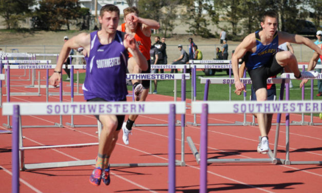 Track and field finds success in home meet
