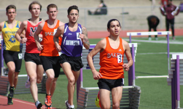 Builder track competes outdoor