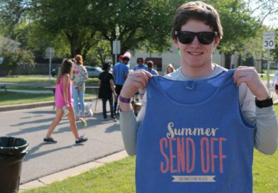 Block party kicks off week-long summer send-off