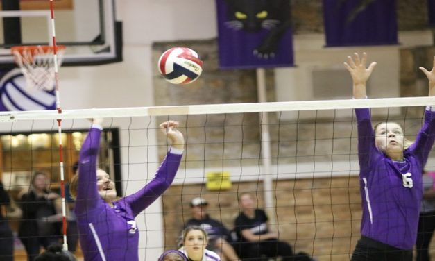 Volleyball can't dig out of deficit