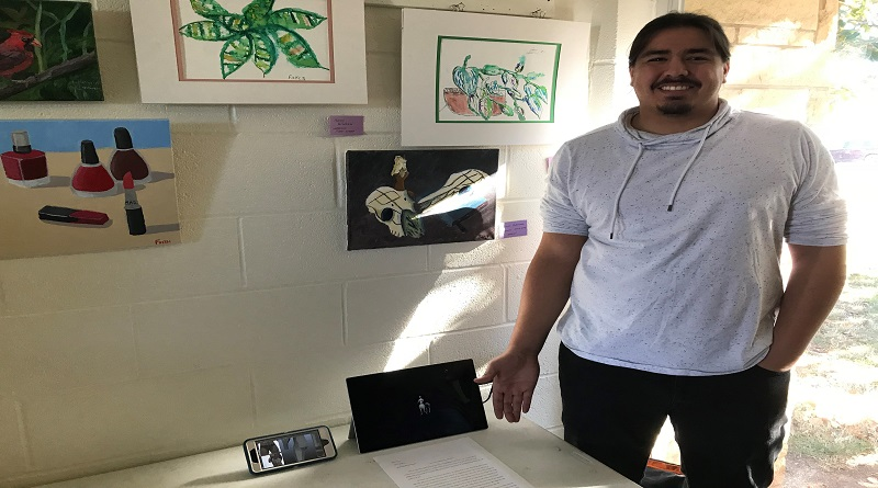 Art project sparks creativity among students