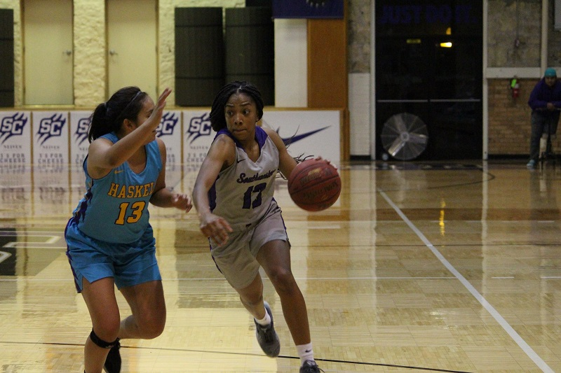 Lady Builder basketball battles Braves