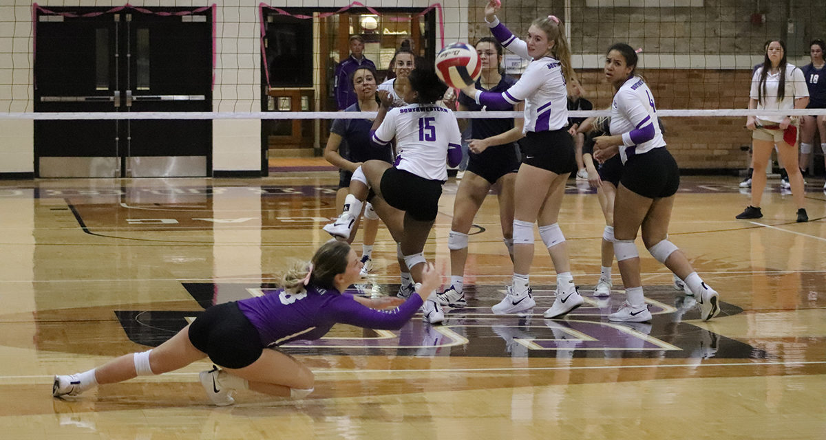 Five set match ends in loss
