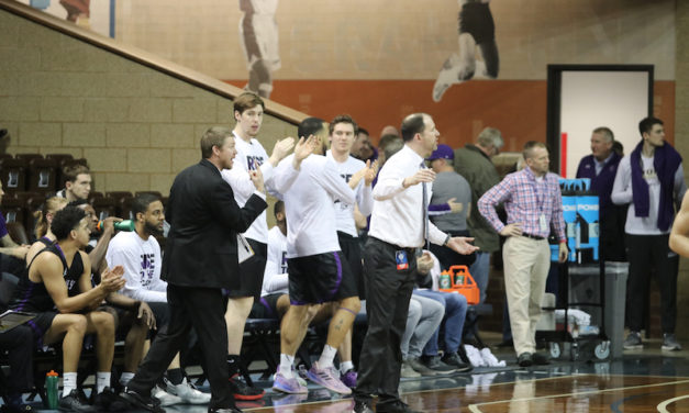 Men's head basketball coach builds record, receives title of 'All-Time Winningest Coach'
