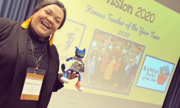 Education alumna receives state, national recognition