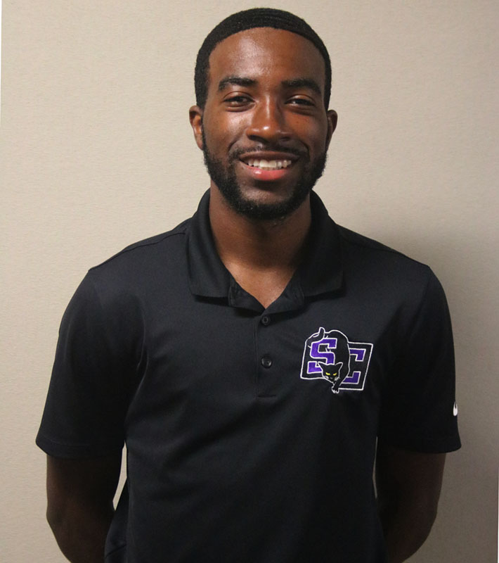 Southwestern welcomes a familiar face for the 2020-21 school year after hiring former tennis athlete Sheldon Hawthorne as an assistant tennis coach. Hawthorne graduated from Southwestern in May 2020 is back in the graduate assistant position for this year. Prior to being hired, Hawthorne was a student-athlete at Southwestern as a part of the men's tennis team. In Sheldon's time at Southwestern he contributed to a four-year span where the team was the best it has been, serving as team captain two of his four seasons. That streak included appearances in the KCAC playoffs every season, a No. 20 NAIA ranking in one season. Hawthorne earned All KCAC Honors in 2017 and KCAC Honors three out of his four years as a student athlete. Besides coaching tennis, Sheldon is involved in 9 LIVES, formerly a part of Student Government Association, and works with Impact Ministries at Southwestern. (RJay McCoy/Staff reporter) (Daegiona Wilson/Staff photogapher)