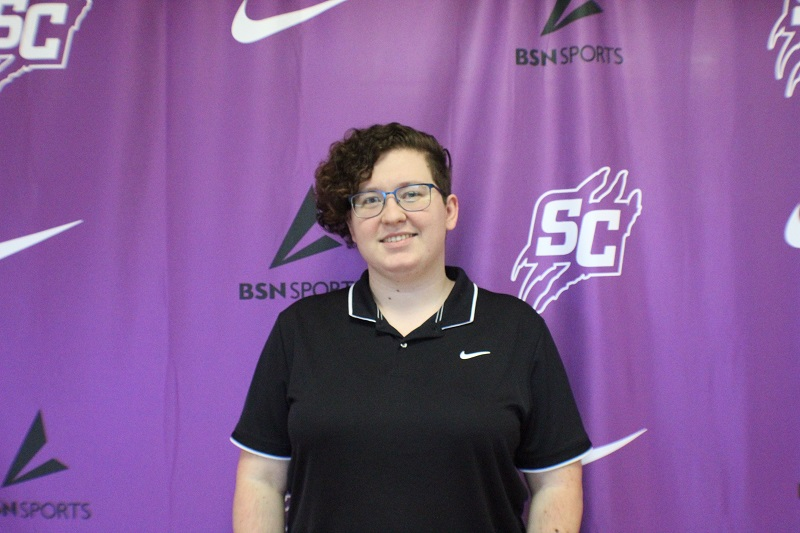 """The faculty and staff here at Southwestern has new additions for the fall of 2020. Emily Bartee is originally from Norfolk, Virginia. Her official title here at Southwestern is the Administrative Assistant for the Athletic Department.  When asked about previous employment, she said, """"My previous field was electronics repair, so this is a whole new game for me. I'm enjoying the change though."""" When it comes to hobbies or free time, Bartee enjoys archery when she has time to get up to the range, and also likes to garden.  When asked what she enjoys about Southwestern the most, she said, """"The people. Everyone I've met has been great, and I look forward to meeting more of you.""""  Bartee can be found in the athletics office during the day helping to make sure any process that has to do with athletics or events runs smoothly. (Lex Gouyton/Staff reporter) (Lex Gouyton/Staff photographer)"""