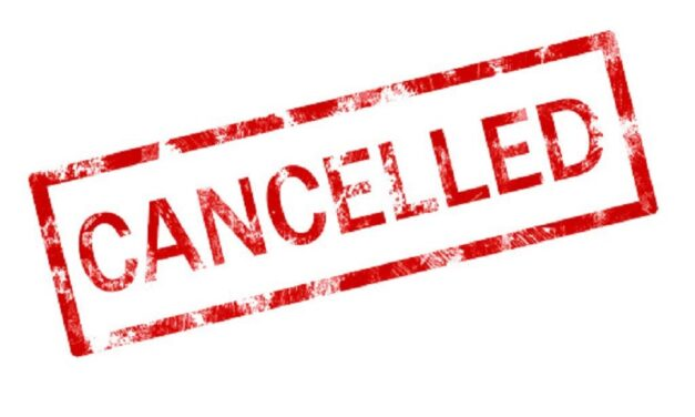 Sporting events cancelled around campus