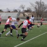 Men's soccer gets shut out in first game back