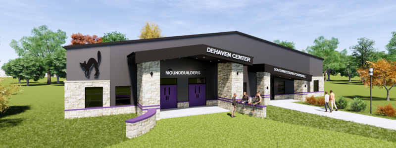 Center to provide facilities for football