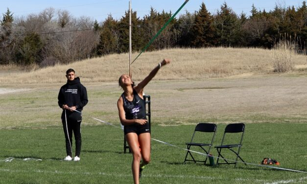 Track competes in first spring season event