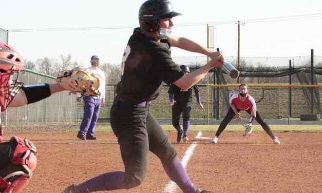Softball loses first conference competition