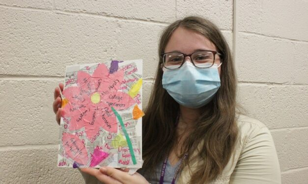 Painting Night serves as stress relief for students
